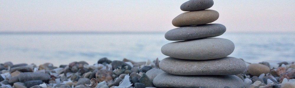 rock, balance, nature